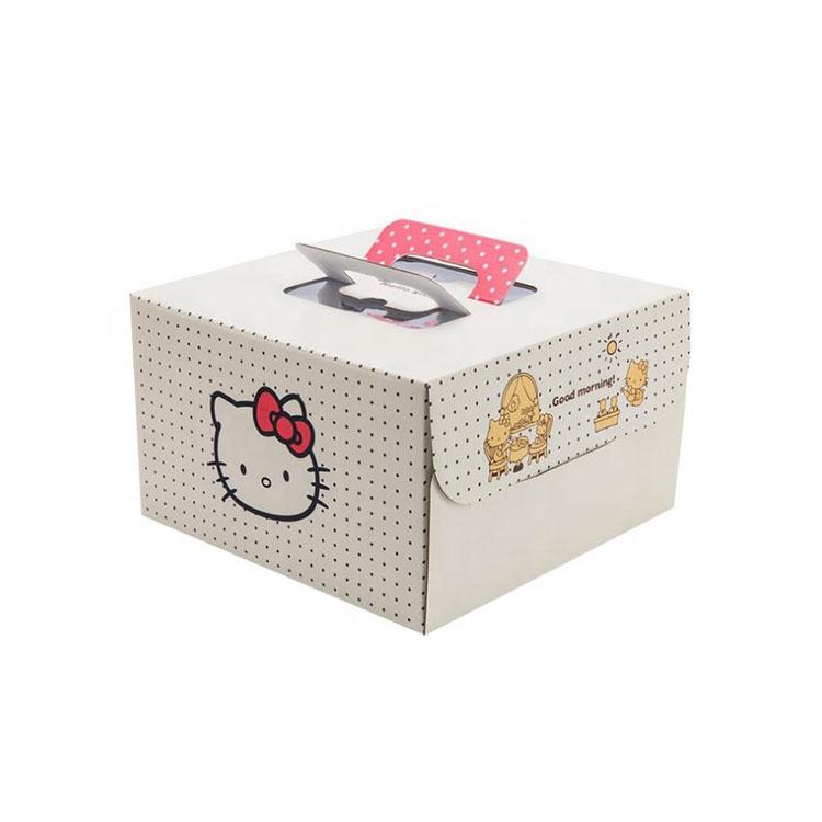 手提可爱彩盒 零食大礼包包装盒 小特产的包装盒 工厂定制包装盒