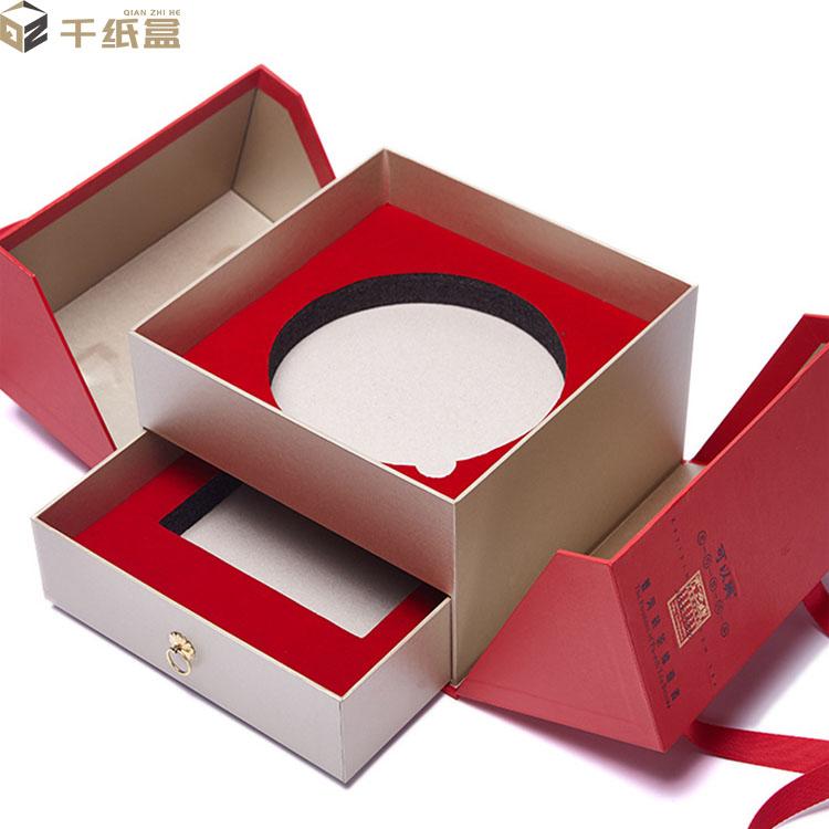高端大气上档次礼盒 创意顶配礼盒  喜庆创意定制礼盒