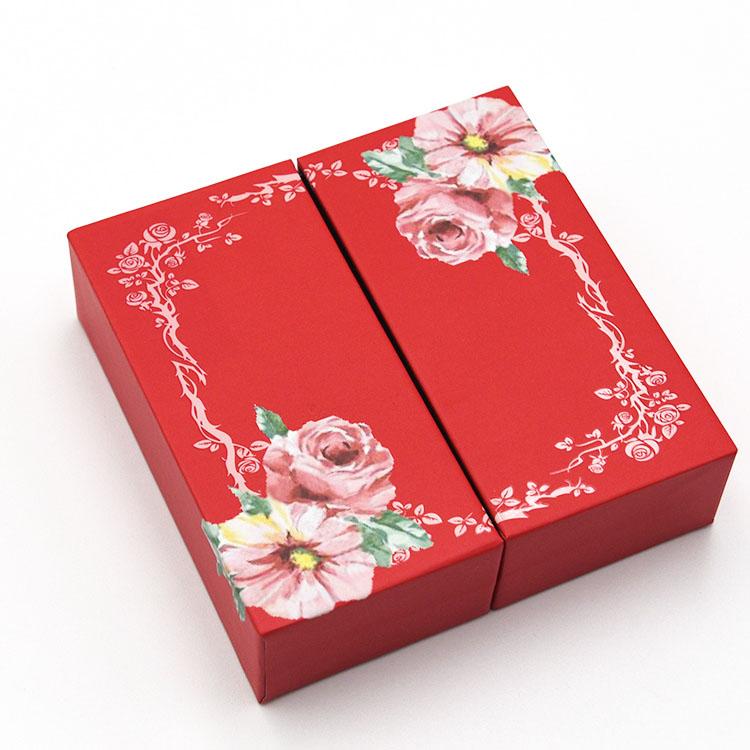 精致花纹礼盒 高端创意包装盒 包装盒定制工厂
